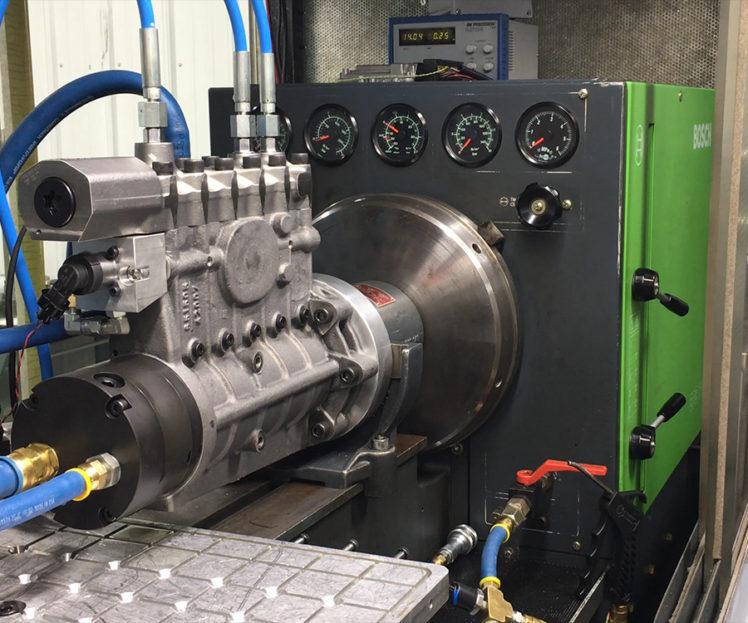 High-Pressure Pump Testing